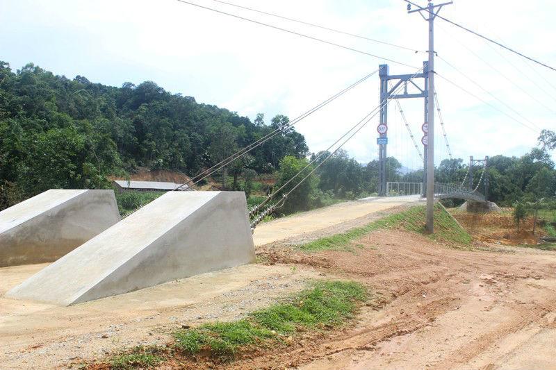 Hà Tĩnh; cầu treo; 3,5 tỷ; Khe Tây