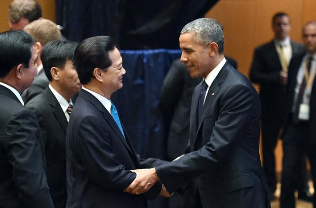Thủ tướng Nguyễn Tấn Dũng, Thu tuong Nguyen Tan Dung, Tổng thống Mỹ Obama, Biển Đông, giải quyết tranh chấp