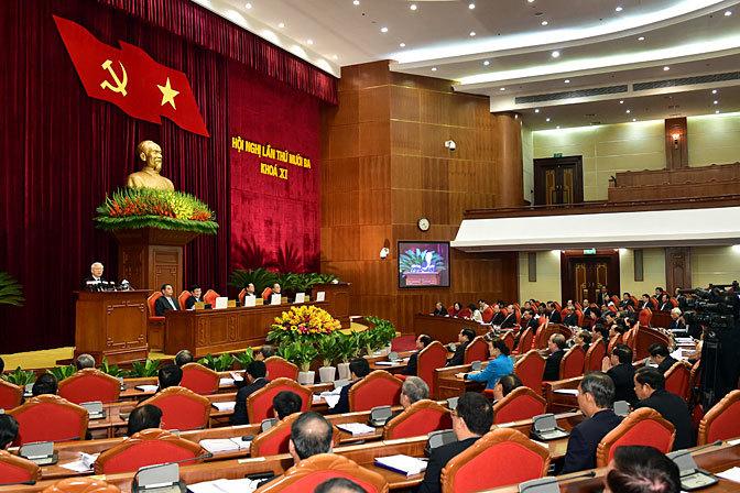 tổng bí thư Nguyễn Phú Trọng, đại hội Đảng 12