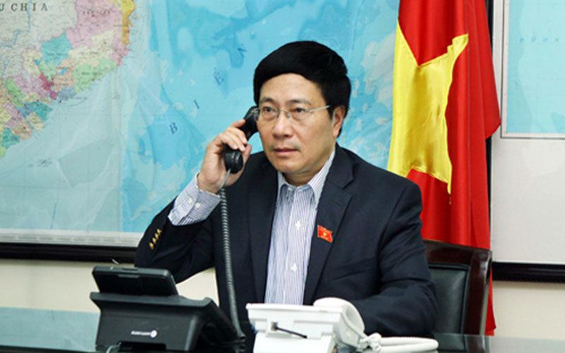 điện đàm, Biển Đông, Ngoại trưởng Mỹ, Phạm Bình Minh