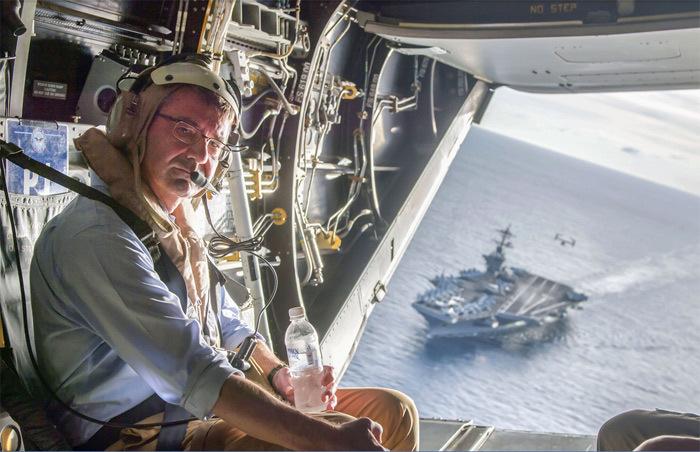 Mỹ, Trung Quốc, Biển Đông, chủ quyền, tranh chấp, máy bay, chiến đấu cơ, hàng không mẫu hạm, tuần tra, bộ trưởng quốc phòng Mỹ
