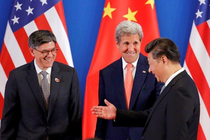 Biển Đông, Đối thoại chiến lược kinh tế Mỹ Trung, SED 2016, Tập Cận Bình, Dương Khiết Trì, John Kerry