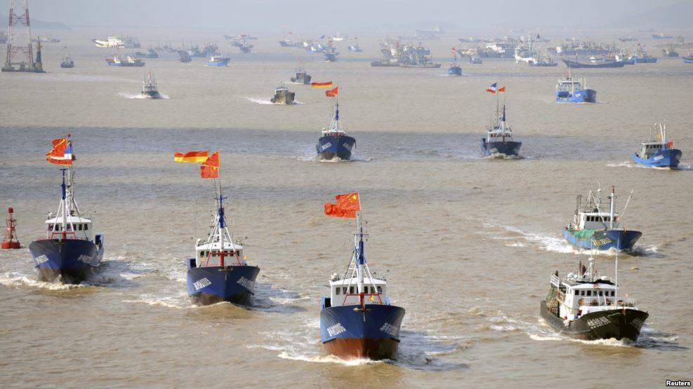 Biển Đông, vụ kiện Biển Đông, tàu chiến, tập trận