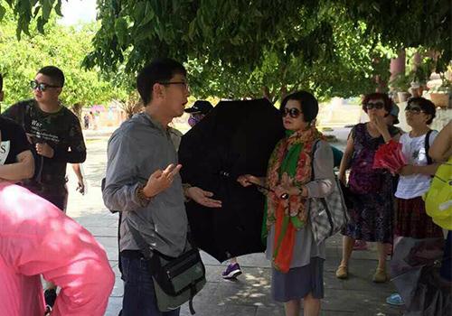 du lịch, dịch vụ, hướng dẫn, Trung Quốc, Việt Nam
