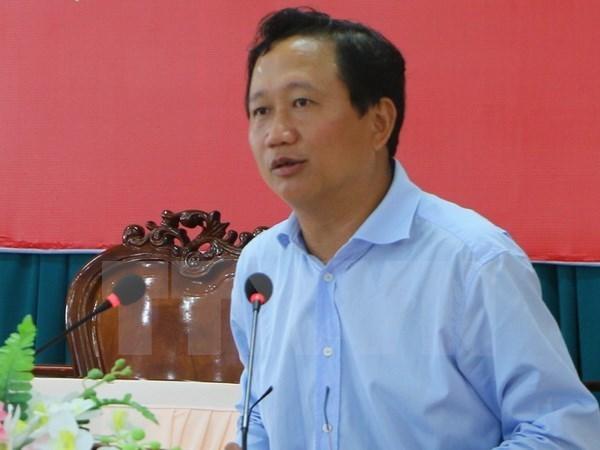 Trịnh Xuân Thanh, kỷ luật, phó chủ tịch tỉnh hậu giang
