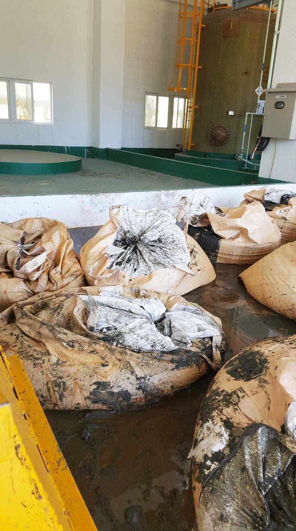Formosa, chất thải, bùn thải