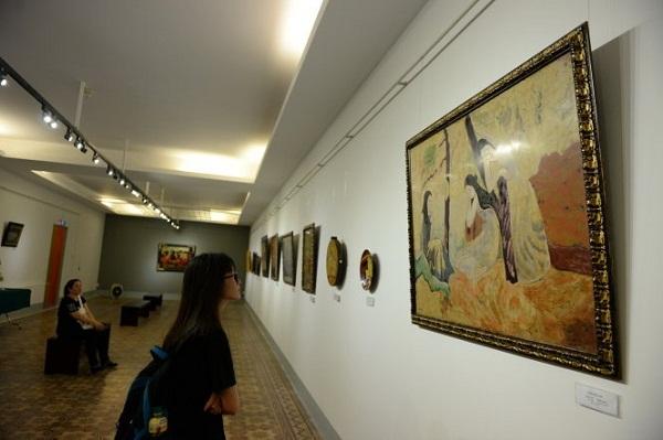tranh giả, triển lãm, họa sĩ, lê thiết cương, tranh từ châu âu trở về, bảo tàng mỹ thuật, thành chường