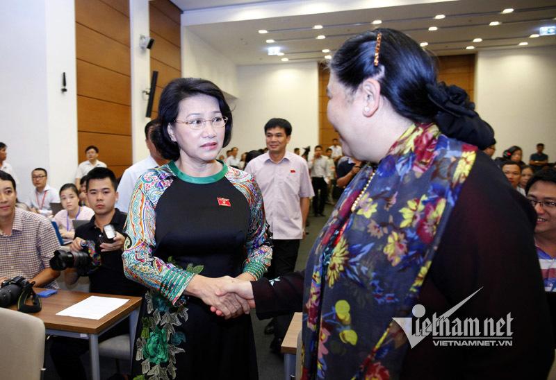 Chủ tịch QH Nguyễn Thị Kim Ngân, bà Nguyễn Thị Kim Ngân, tri ân báo chí