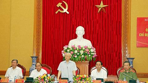 Tổng bí thư, Nguyễn Phú Trọng, Đảng ủy Công an TƯ