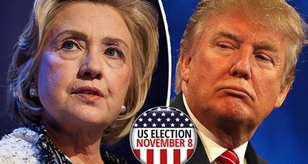 Trump được 148 phiếu, Hillary tiếp tục 104