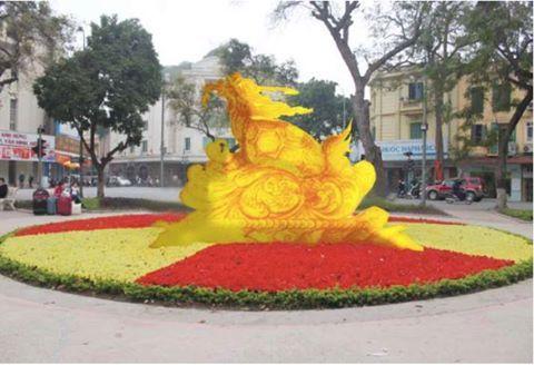 tượng rùa vàng 10 tấn , Hồ Hoàn Kiếm, Dương Trung Quốc
