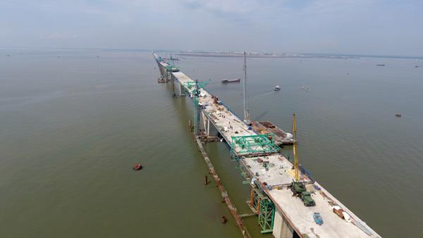 cầu Tân Vũ - Lạch Huyện, cầu dài nhất Đông Nam Á, Hải Phòng, cầu vượt biển