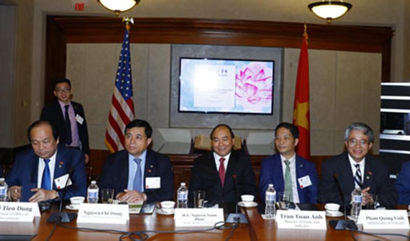 Thủ tướng thăm Mỹ, Thủ tướng Nguyễn Xuân Phúc, Nguyễn Xuân Phúc, Tổng thống Donald Trump, Donald Trump, quan hệ Việt - Mỹ