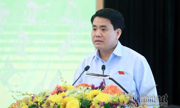 Nguyễn Đức Chung, chủ tịch Hà Nội, nắng nóng lịch sử, Hà Nội nóng kỷ lục, tiếp xúc cử tri