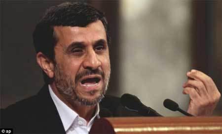 Iran, bắt giữ, Tổng thống