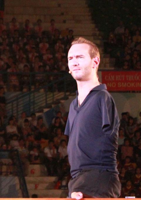Nick Vujicic, học sinh, tiểu học, các em nhỏ, trẻ thơ