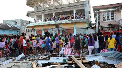 Haiyan, Philippines,  Benigno Aquino, thảm họa