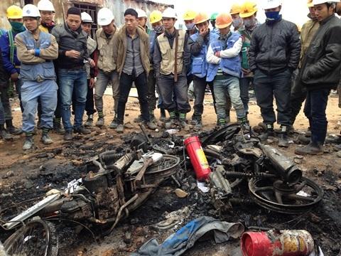 Nhà máy Samsung Thái Nguyên, xô xát, bạo lực, công nhân, đám đông