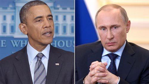 Obama, Putin, điện đàm, giải pháp, Ukraina, Crưm