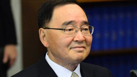 Chung Hong-won, Hàn Quốc, từ chức, Sewol