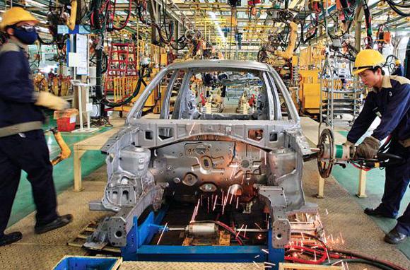 Công-nghiệp-ô-tô, ô-tô, hợp-tác, VAMI, DN, liên-kết, chính-sách, thuế, sản-xuất, nhập-khẩu, khó-khăn.