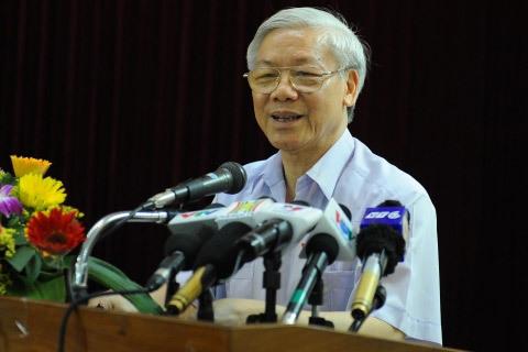 Tổng bí thư, Nguyễn Phú Trọng, QĐND
