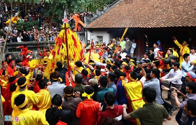 lễ hội, đền Gióng