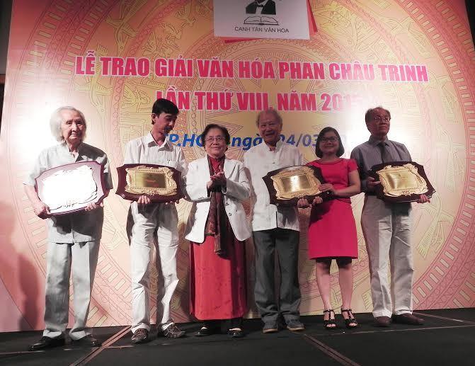 giải thưởng Phan Chu Trinh, nhạc sư
