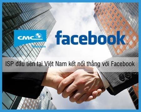CMC Telecom, Facebook, mạng internet