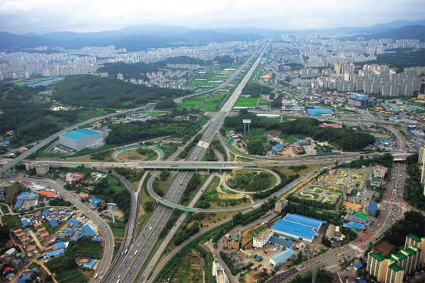 Hàn Quốc, xa lộ, kỳ công, Park Chung Hee
