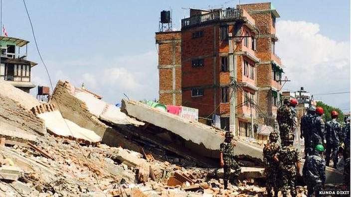 Nepal, động đất, thiệt mạng