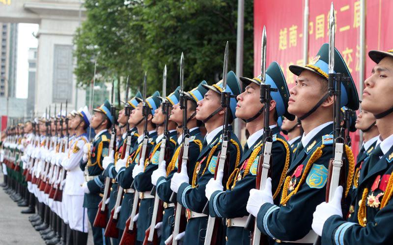 biên giới, Phùng Quang Thanh, Đại tướng, quốc phòng, quân đội, TQ