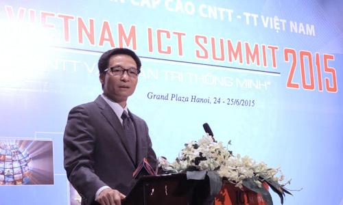 VN ICT Summit 2015, Phó Thủ tướng Vũ Đức Đam