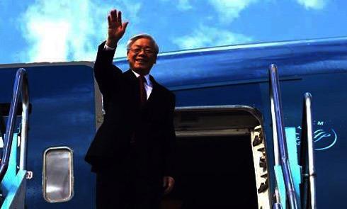Tổng bí thư, Nguyễn Phú Trọng, Hoa Kỳ, Obama