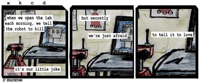 XKCD does A Softer World
