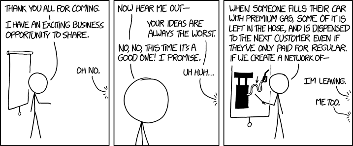 XKCD: Business Ideas