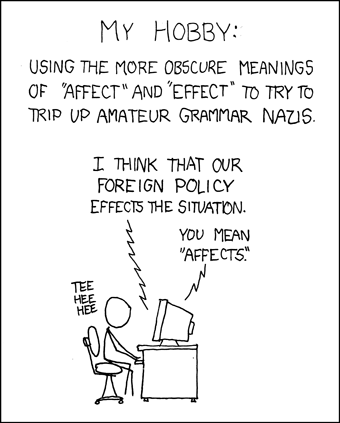 XKCD - geek humour