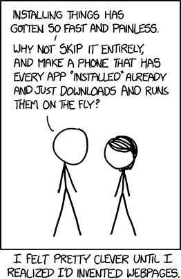 xkcd.com comic about webpages
