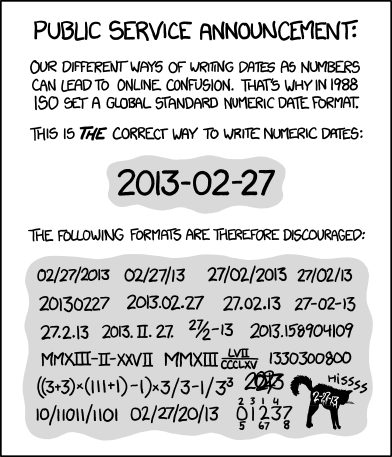 xkcd : ISO 8601