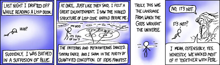 Lisp by XKCD