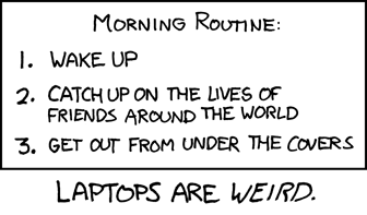 morning routine - xkcd