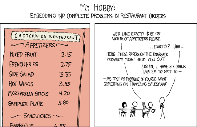 [Cartoon From XKCD]
