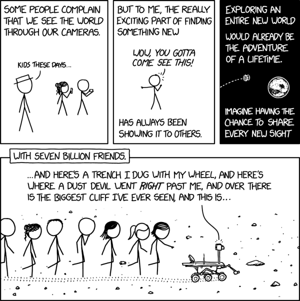 xkcd: Opportunity Rover