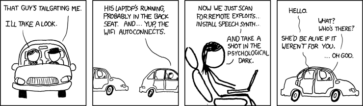 XKCD cartoon humor
