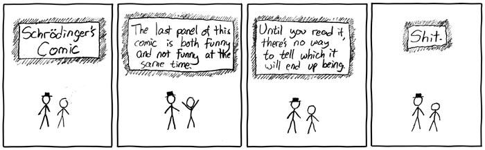 Schrodinger's Comic
