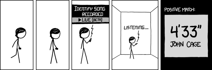XKCD - Silence