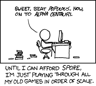 xkcd cartoon about Alpha Centauri