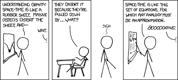 Teaching Physics - xkcd