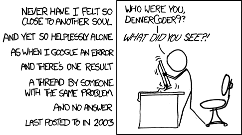 xkcd.com Wisdom of the Ancients