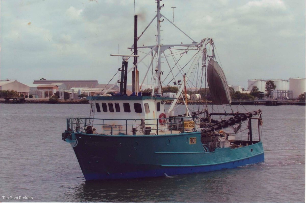 Steel Prawn Trawler Commercial Vessel Boats Online For